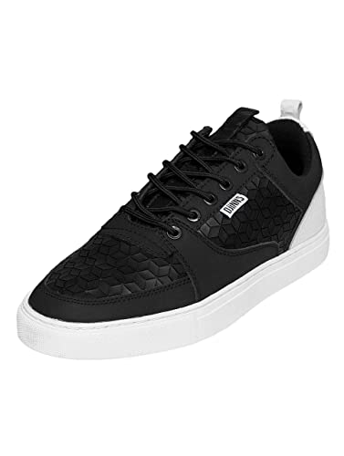 e2b89dc01e1bf Djinns Men Shoes Sneakers Forlow Rubber Croc Black 43  Amazon.co.uk ...