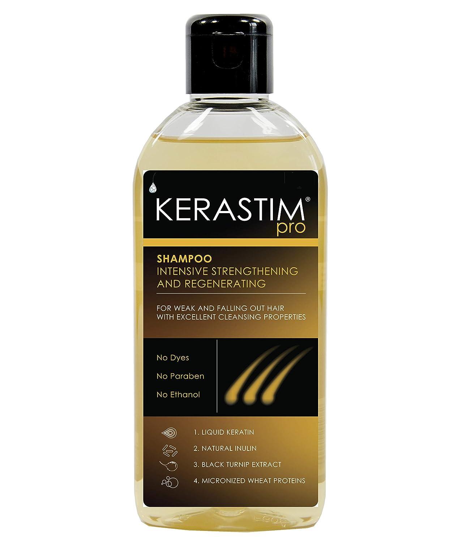 Kerastim Pro Champú antipérdida de cabello, tratamiento para el crecimiento del cabello, para mujeres y hombres, 200 ml