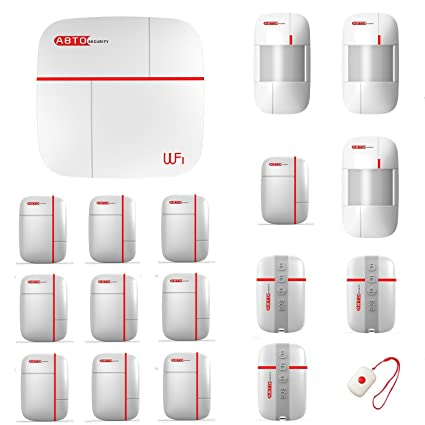 Szabto Sistema de protección de seguridad doméstico GSM y WLAN con doble