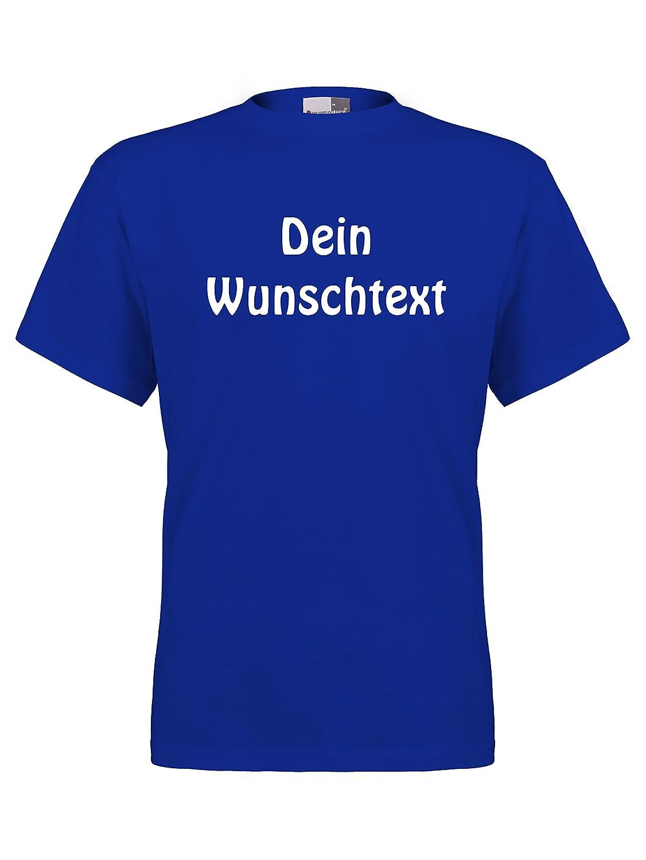 new concept d6195 deebc FLOCKex Marken T-Shirt mit Wunschtext - Sprüche indivduell auf Das T-Shirt  Drucken Lassen   Personalisierter Textildruck