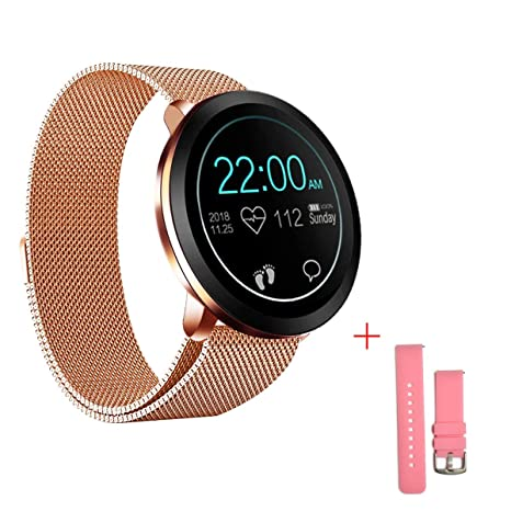 Zuoli Smart Watch Fitness Tracker with Heart Rate Monitor Blood Pressure Activity Tracker Bluetooth Smartwatch for Women Men Compatible Android iOS