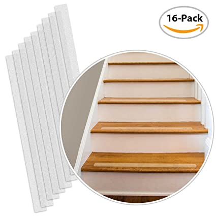 Charmant Non Slip Stair Strips U2013 16 Pack U2013 Pre Cut Clear Step Strips U2013