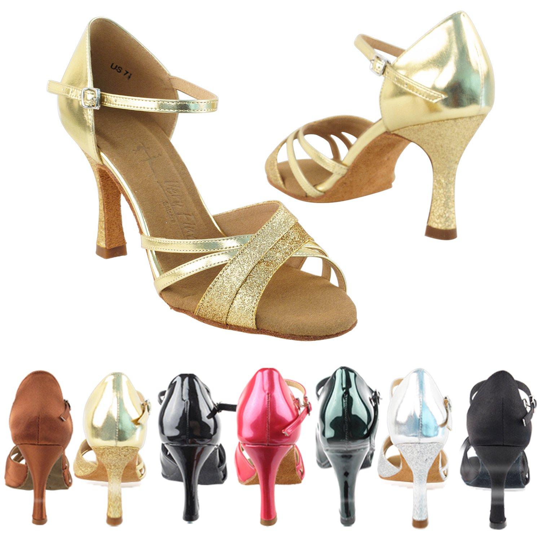 (訳ありセール 格安) [Very Fine Dance Shoes] レディース B0145NAAX4 ゴールド 8.5 B(M) US|ゴールド Dance レディース ゴールド 8.5 B(M) US, ニシキムラ:e727f8d2 --- a0267596.xsph.ru