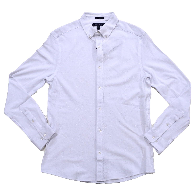 Tommy Hilfiger Mens Athletic Fit Knit Dress Shirt At Amazon Mens