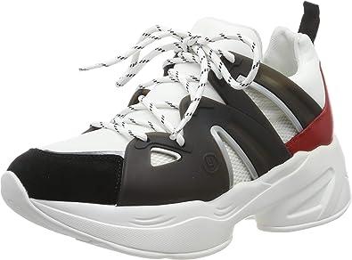 Conmoción avance Diagnosticar  Liu Jo Jog 07-Sock Sneaker Black/White/Rouge, Zapatillas para Mujer:  Amazon.es: Zapatos y complementos