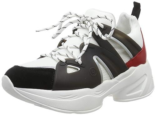 super popular 53fac 3468f Liu Jo Jeans Jog 07-Sock Sneaker Black/White/Rouge, Scarpe ...