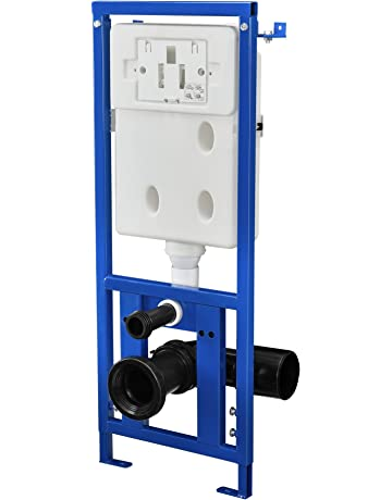 [neu.haus]® Cisterna de WC empotrada para inodoro accesorio de baño (