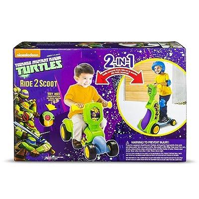 Teenage Mutant Ninja Turtles Ride 2 Scoot: Toys & Games