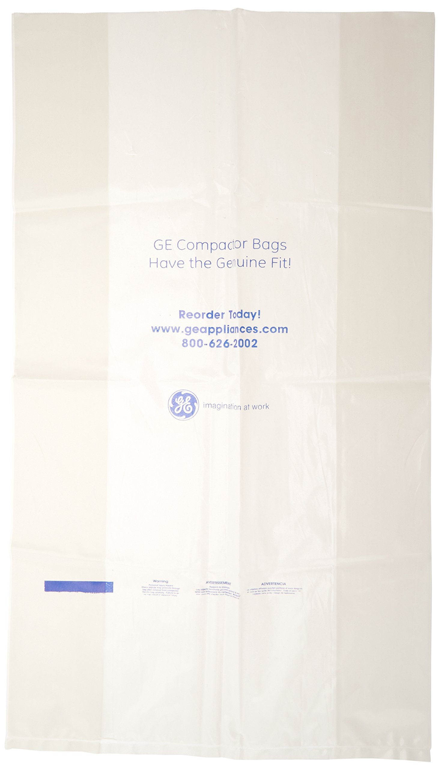 General Electric WC60X5015 Compactor Bags