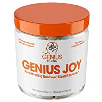 Genius Joy - Serotonin Mood Booster for Anxiety Relief, Wellness & Brain Support...