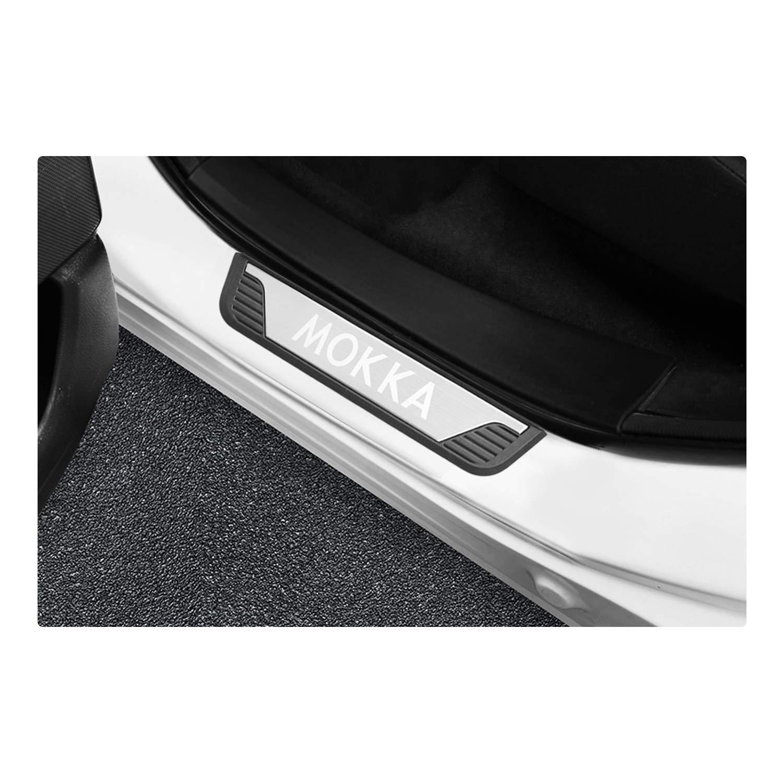 4 pezzi protezione per pedali YEE PIN Mokka X Battitacco in acciaio inox per auto . accessori per portiera