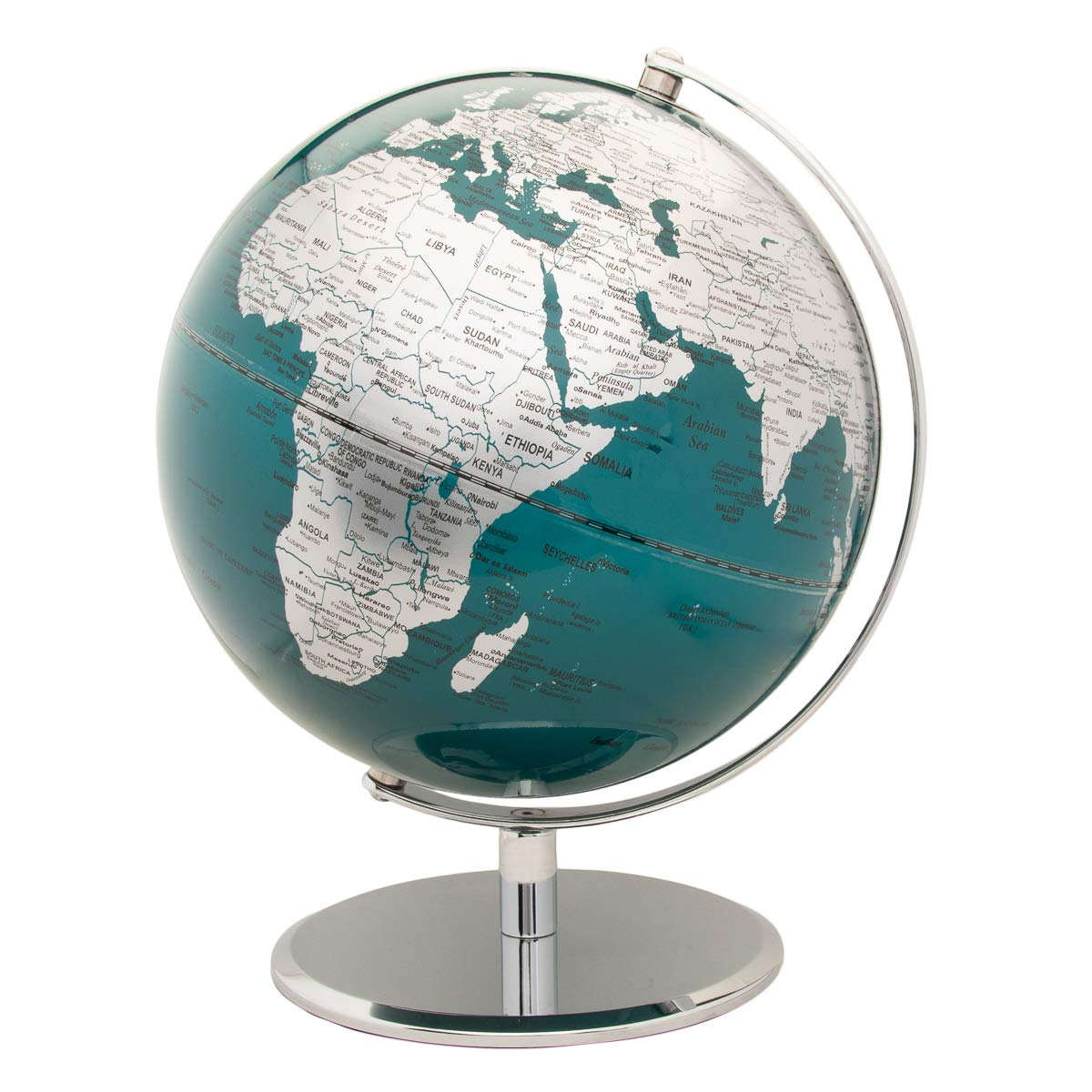 Wild and Wolf 10'' World Globe For Kids, Globe For Adults, School Supplies, Classroom Supplies, Home Decor, Office Desk Accessories
