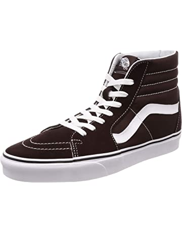 super popular 728d9 be38a VANS Sk8-Hi Unisex Casual High-Top Skate Shoes, Comfortable and Durable in