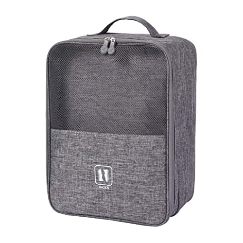 bef9e29e14a5 Shoe Storage Bag,Zipper Waterproof Portable Travel Shoe Bag,Holds 3 Pair of  Shoes