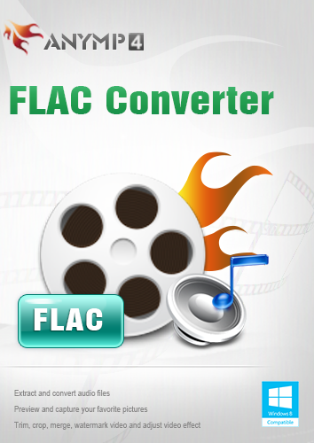 AnyMP4 FLAC Converter Lifetime License - Convert FLAC, FLV, F4V and SWF to MP3, M4A, AIFF, ALAC, WAV, WMA, etc. [Download] (Flac Music Downloads)