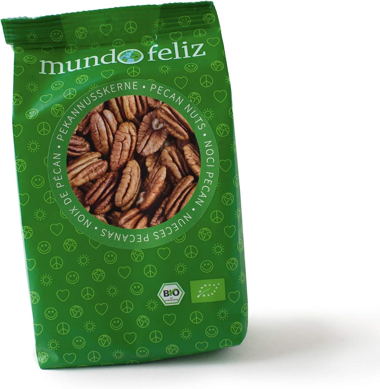Mundo Feliz - Nueces pecanas ecológicas, 5 bolsas de 100 g: Amazon.es: Alimentación y bebidas