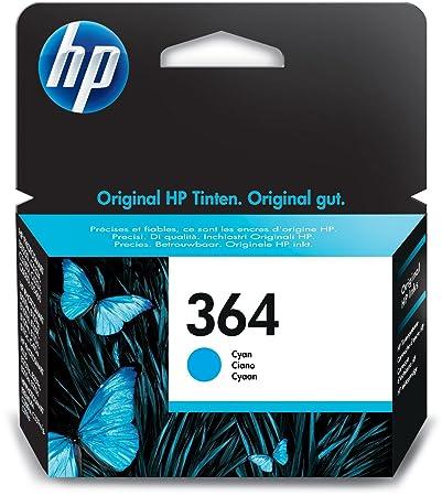 HP 364 Blau Original Druckerpatrone für HP Deskjet 3070A, 3520; HP Photosmart 5510, 5515, 5520, 5525, 6510, 6520, 7510, 7520,