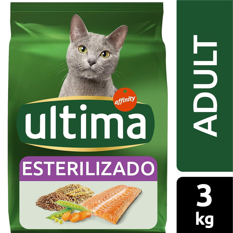 Ultima Pienso para Gatos Esterilizados Adulto con Salmón - 3 kg ...