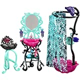 Mattel Y7715 Monster High Accessori Relax da Urlo Specchiera+Accessori (7/2013)