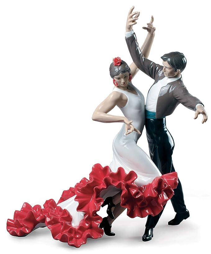 LLADRÓ Figura Baile Flamenco. Bailarines de Porcelana ...