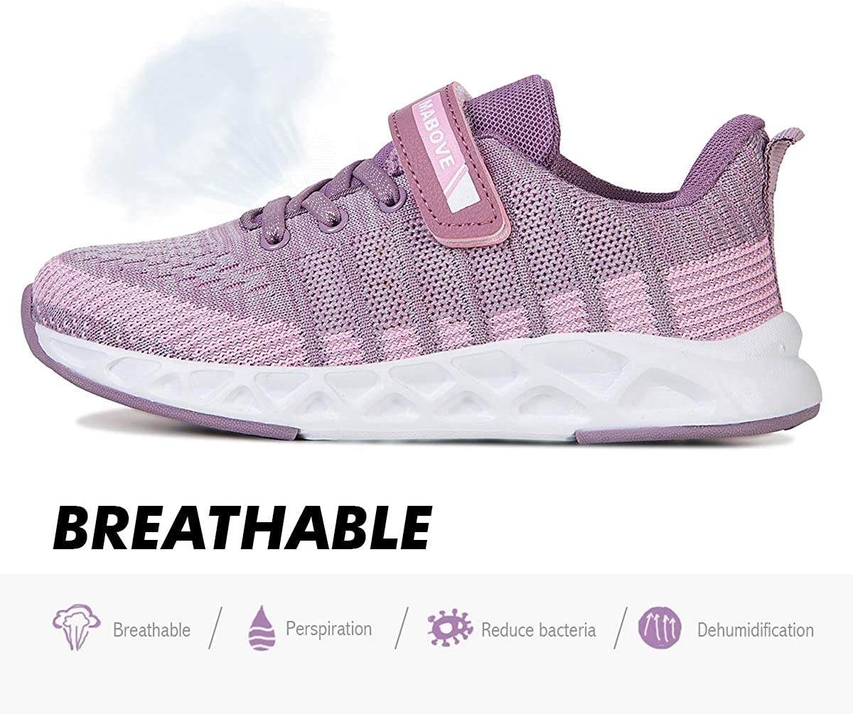 Boys Girls Trainers Kids Sneakers Athletic Casual Running Shoes Child Sports Walking Shoes Fashion Comfortable