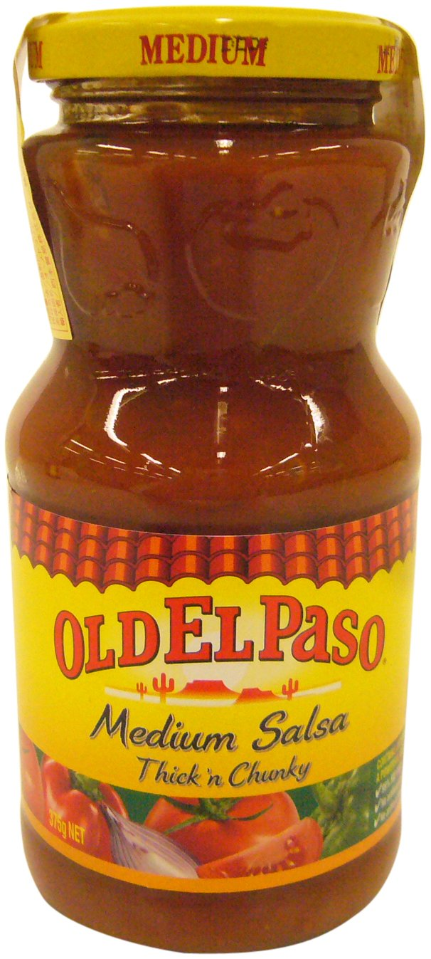 Amazon.com : Old El Paso Thick & Chunky Salsa Medium 375g : Grocery & Gourmet Food