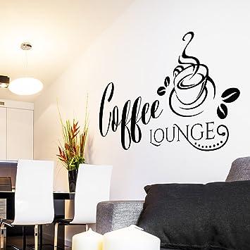 Pixelstudio Wandtattoo Coffee Lounge | Kaffee Wandaufkleber ...