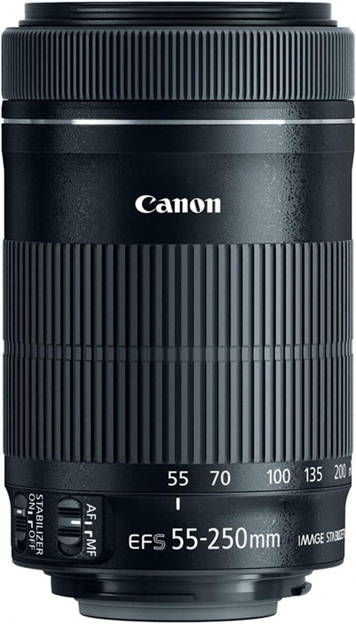 Canon Telezoomobjektiv Ef S 55 250mm F4 5 6 Is Stm Für Kamera