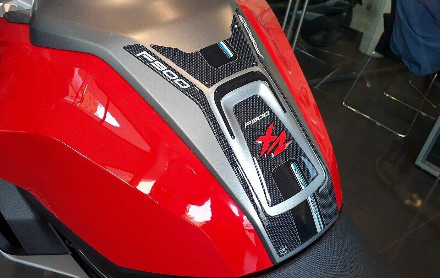 Etiqueta engomada del tanque del gel 3D F900 XR para el tanque de la motocicleta de BMW F900XR