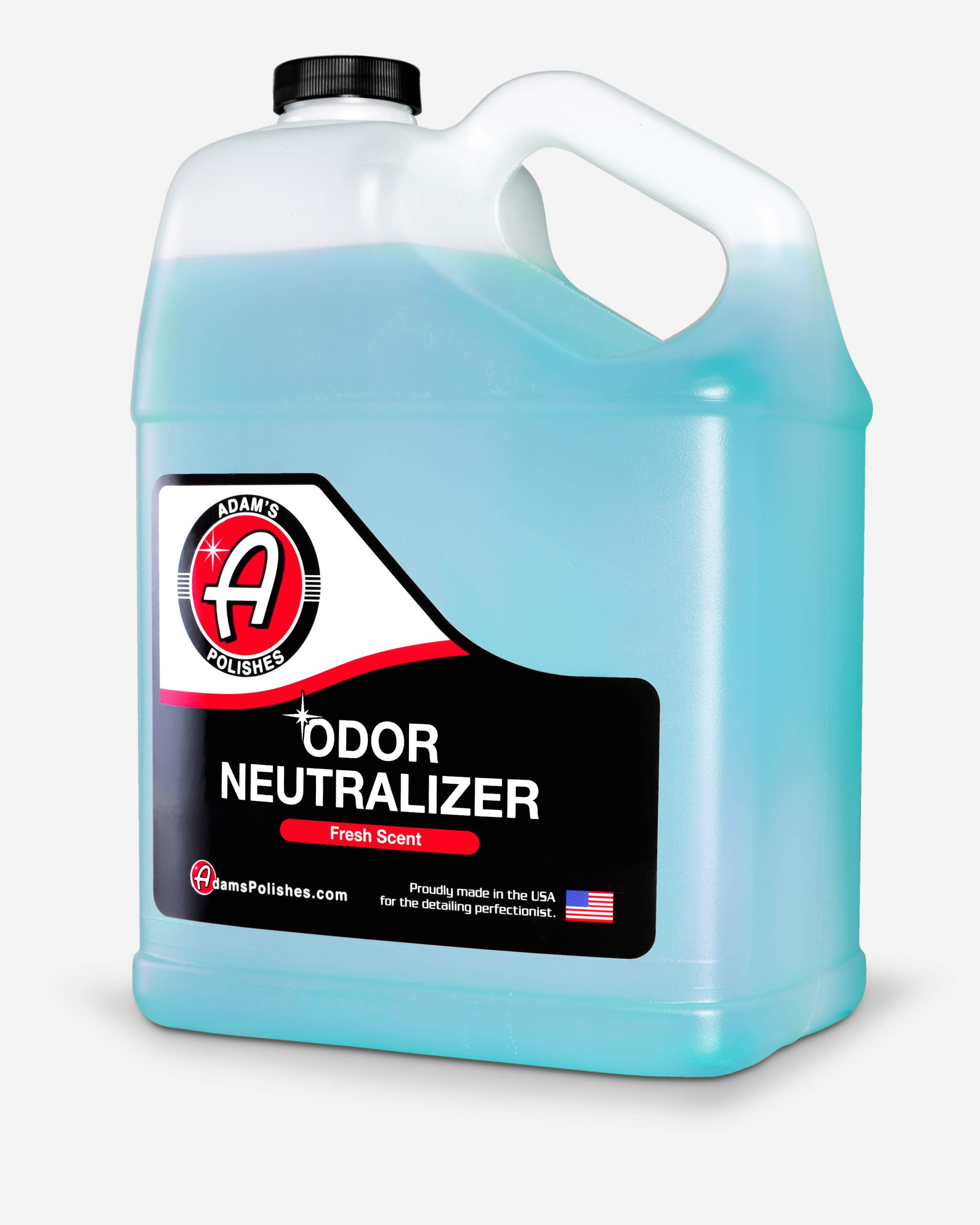 Adam's Odor Neutralizer - Specially Formulated Air Freshener That Eliminates Harmful Odors from Car Interior Accessories, Leather Seats, Carpet Upholstery, Pet Odors (Fresh Scent Gallon) by Adam's Polishes