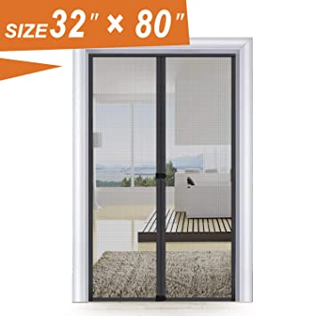 Magic Screen Door 32 X 80 Entry Front Door Fit Door Frame Size Up