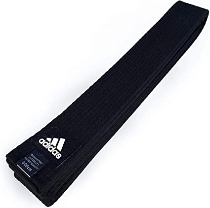 New adidas Taekwondo Karate Belt Martial Arts Judo Jiu-Jitsu Belt Cotton-WHITE