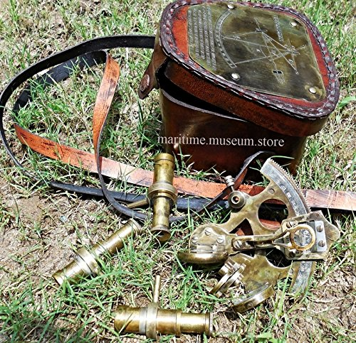 Antique-Pocket-Sextant-With-Leather-Box3130