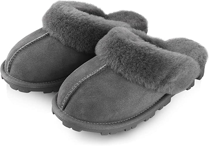 Ladies Slippers  Free Post COOLERS LUXURIOUS LADIES SHEEPSKIN SLIPPER