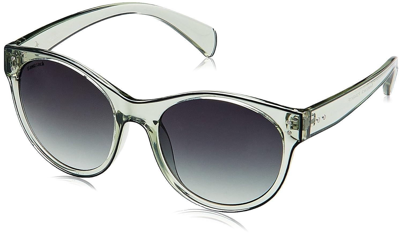 Fastrack UV Protected Round Men's Sunglasses - (P344BK1F|Grey Color)