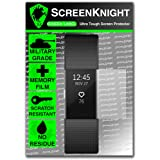 ScreenKnight® Fitbit Charge 2 Screen Protector - Military Shield X 1 Piece