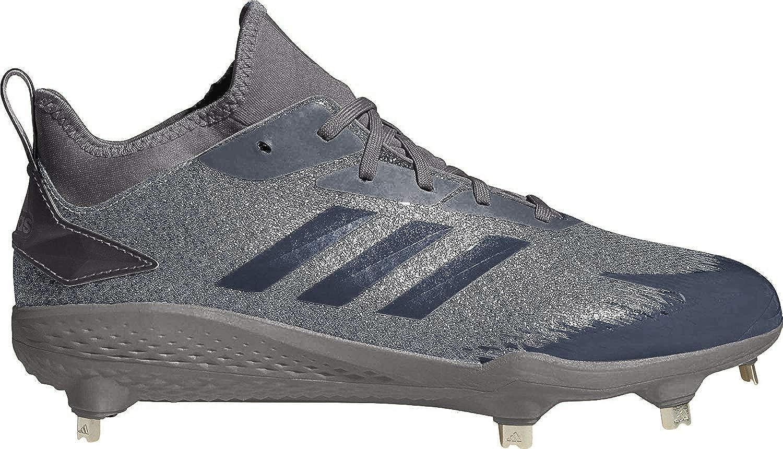Image of adidas Adizero Afterburner V Dipped Cleats Men's, Grey, Size 11 Basketball
