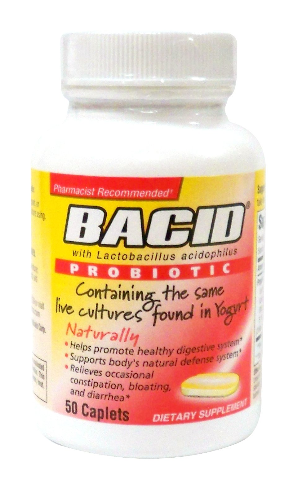 Amazon.com: Bacid with Lactobacillus Acidophilus