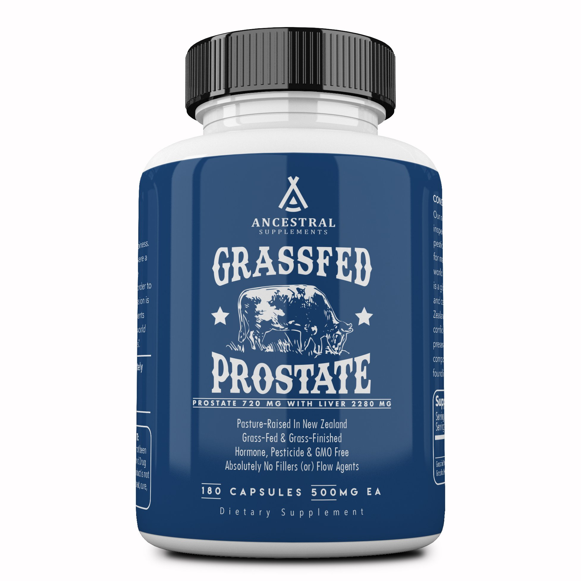Ancestral Supplements Prostate (with Desiccated Liver) - Supports Prostate Health (180 Capsules)
