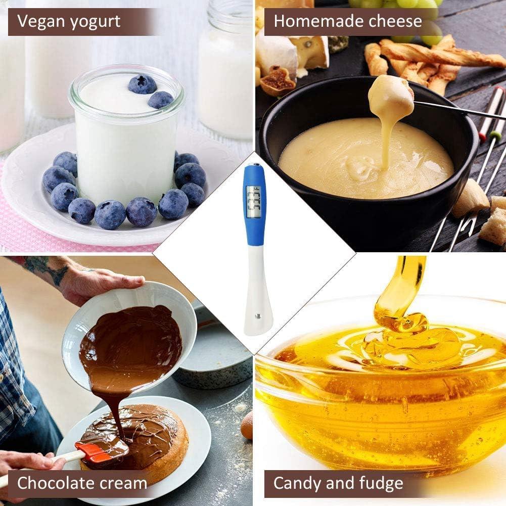 Cremas Salsas Mermeladas y Jarabes Domilay Term/óMetro Digital de Esp/áTula Lectura Instant/áNea Term/óMetro de Cocina y Dulces para Chocolate