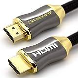 LCS Orion HDMI-kabel, 3D, HDMI 1.4-2.0, Ultra HD 4k 2160p, Full HD 1080p, ARC, videosignaal met ethernet, vergulde stekker B: 1.5m ORION orion