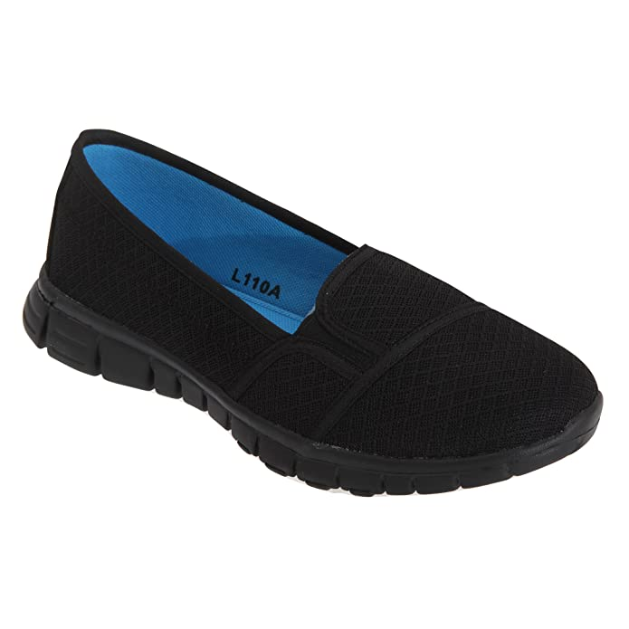 Amazon.com | Dek Superlight Womens/Ladies Memory Foam Slip On Shoes | Loafers & Slip-Ons