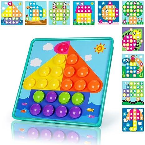 NextX Puzzle 3D Tablero de Mosaico Infantiles, Puzzles Infantiles ...