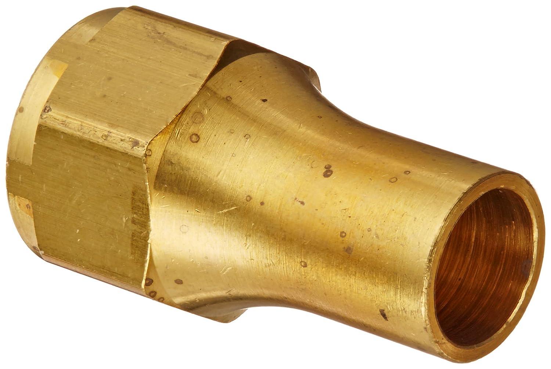Long Nut 1//2 Tube OD Eaton Weatherhead 41X8 Brass CA360 SAE 45 Degree Flare