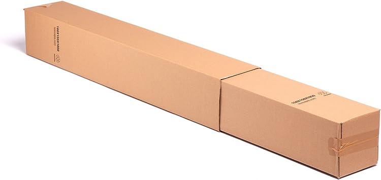 4x) Cajas Altas Largas para Tubos altos de cartón | Lote de 4 | TeleCajas: Amazon.es: Oficina y papelería
