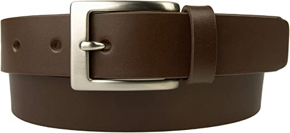 Mens Quality Leather Belt Made in UK