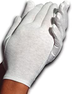 Cara Moisturizing Eczema Cotton Gloves, Large, 24 Pair