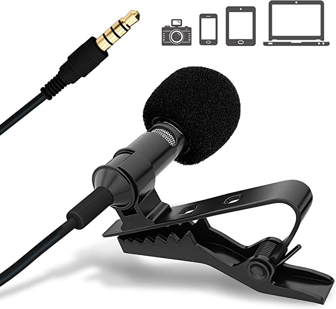 Ultimate Lavalier Microphone for Bloggers and Vloggers Lapel Mic Clipon Omnidirectional Condenser for iPhone Ipad Samsung Android Windows Smartphones at Kapruka Online for specialGifts