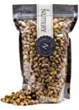 The Nuttery Roasted and salted No Shells Pistachio Nuts - 16 ounce Pouch Bags (1lb)
