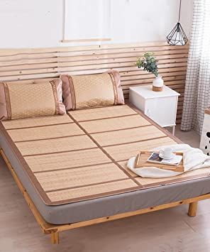 Estera Xiaolin Verano Cama-colchón Plegable Supercool Bedding Alfombras de bambú Colchón Tejido Uso de